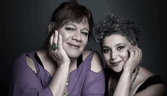 Tejiendo: Luciana Jury y Susy Shock en concierto