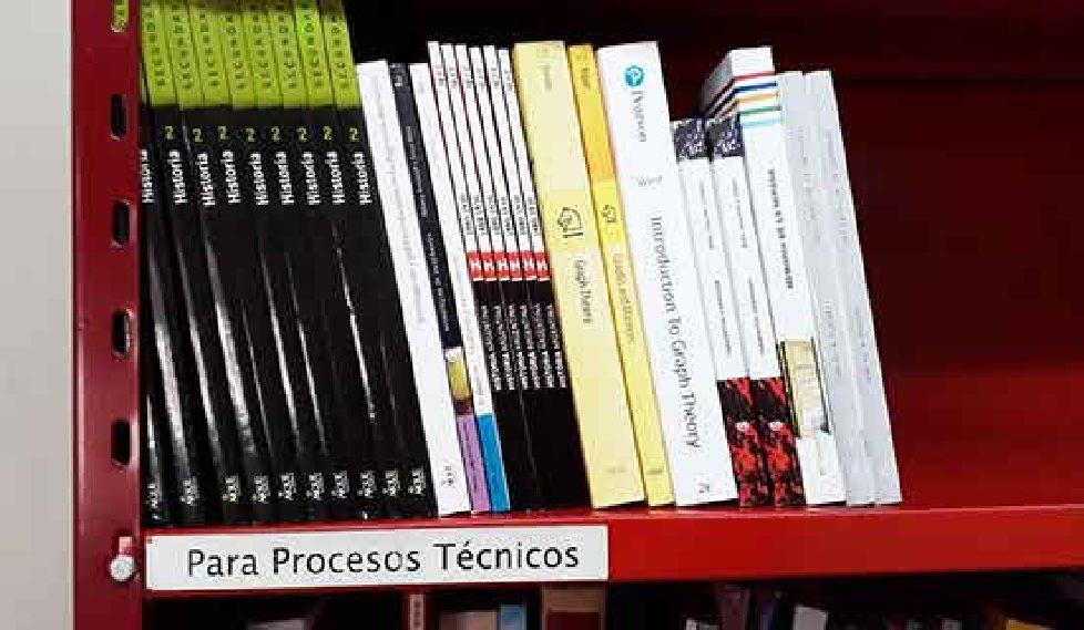 Segundo pedido de compra de bibliografía