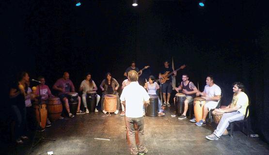 Presentación del Ensamble de percusión e instrumentos armónicos y melódicos UNGS