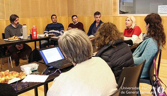 La salud, el centro de un nuevo encuentro entre la UNGS y representantes municipales