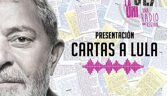 Cartas a Lula en versión sonora
