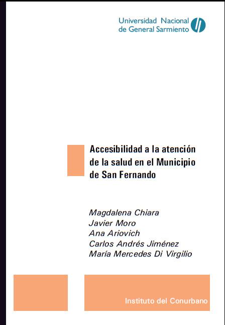 Accesibilidad a la atención de la salud en el municipio de San Fernando