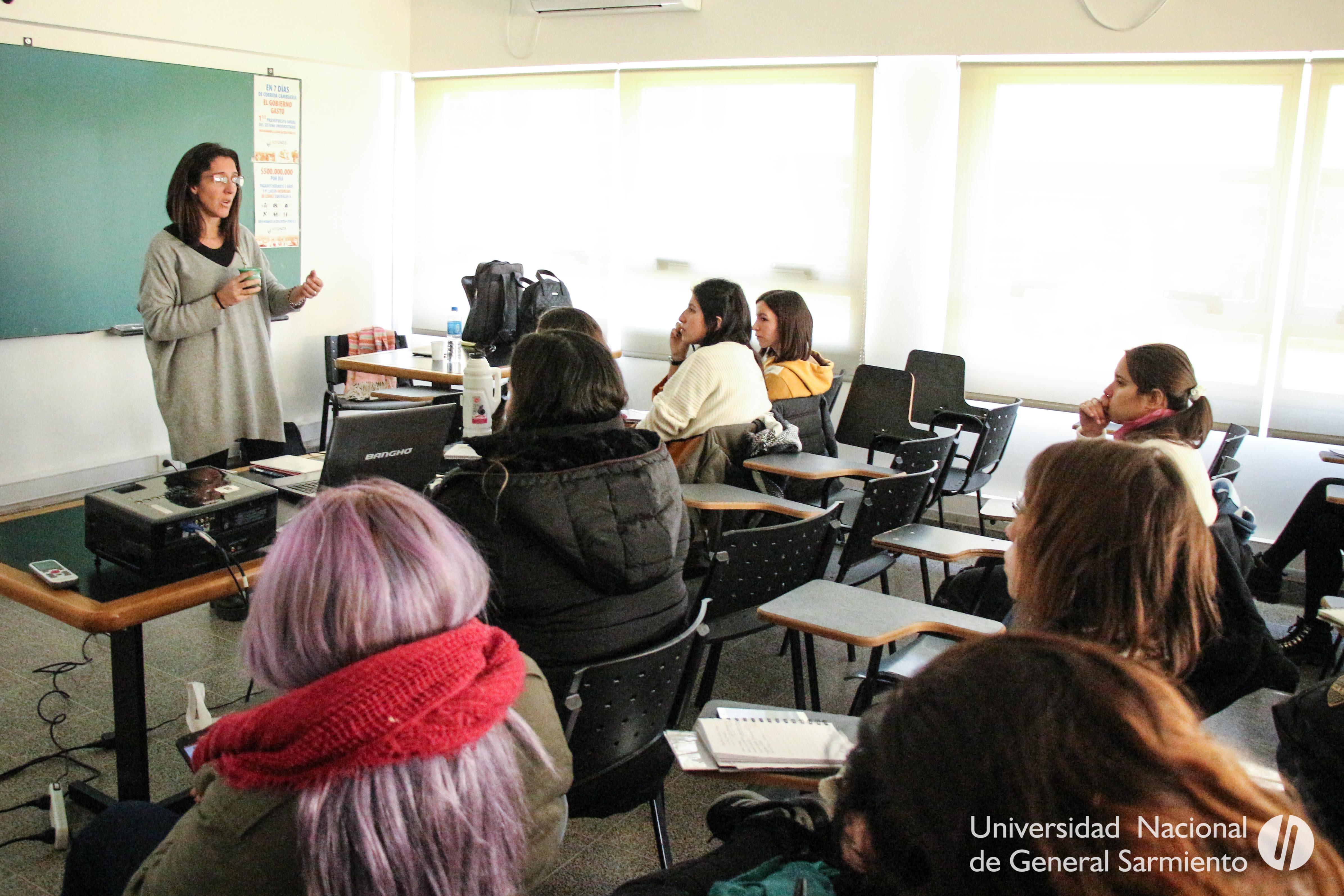 Reseña del taller Gramática en Lengua y lengua en la escuela