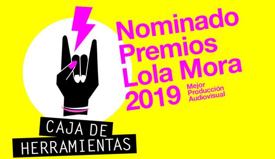 Caja de Herramientas nominada a los premios Lola Mora 2019