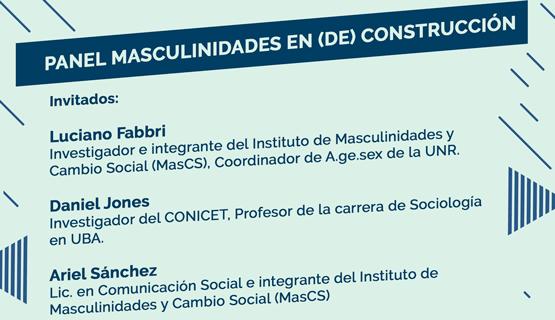 Conversatorio Masculinidades en (de)construcción