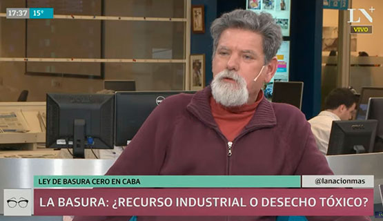 Francisco Suárez en La Nación+ habló sobre el problema de la basura