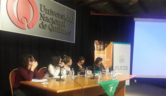 La UNGS en el IIº Congreso Nacional de Economía Social y Solidaria