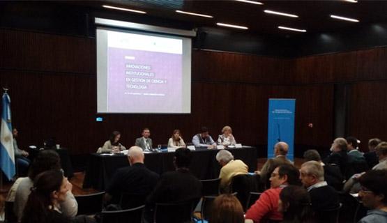 La UNGS en encuentro sobre Innovaciones institucionales en gestión en Ciencia y Tecnología
