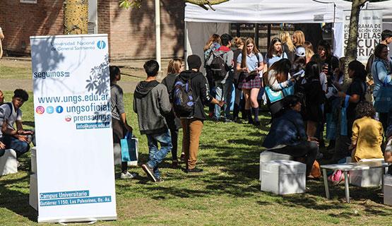 Más de 3000 estudiantes secundarios participaron de la Feria de Carreras de la UNGS