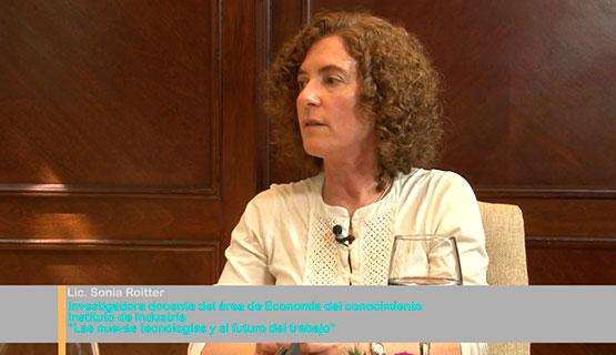 Las nuevas tecnologías y el futuro del trabajo | Sonia Roitter en Diagnóstico y Debate