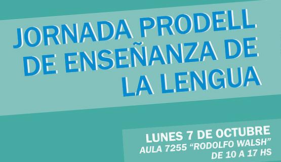 Jornada PRODELL de Enseñanza de la Lengua
