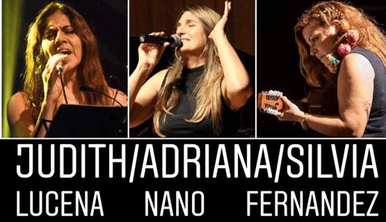 Tres voces, tres miradas: Judith Lucena, Adriana Nano y Silvia Fernandez