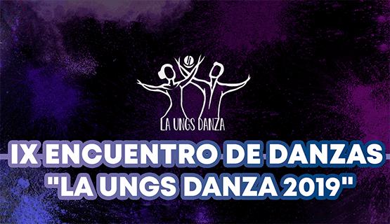 UNGS DANZA 2019: charlas, presentaciones y muestras