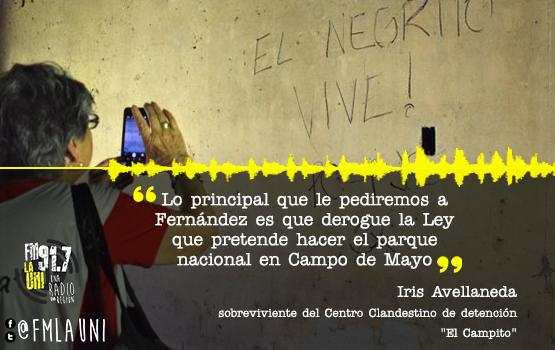 Familiares y sobrevivientes de Campo de Mayo piden audiencia con Fernández