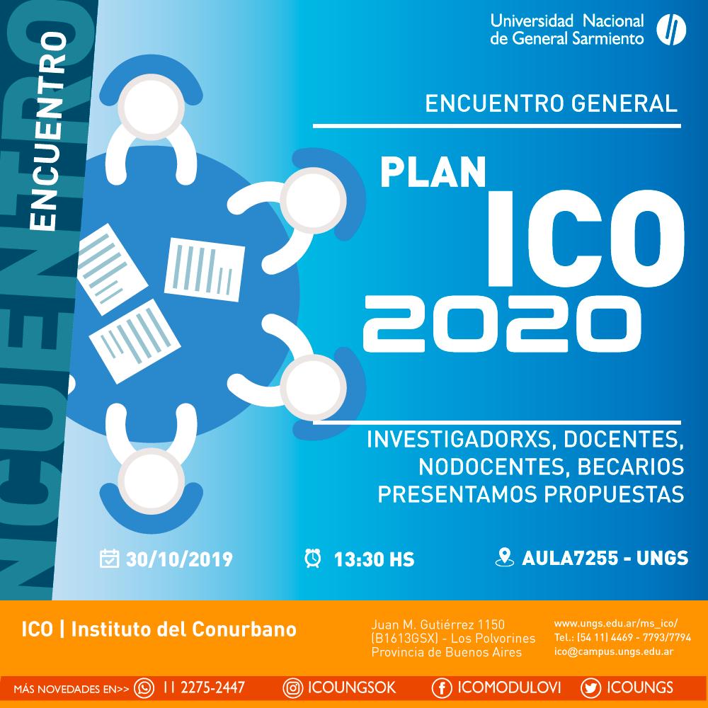 Plan ICO 2020