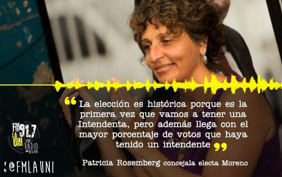 Elecciones: Mariel Fernandez será la primera mujer intendenta de Moreno