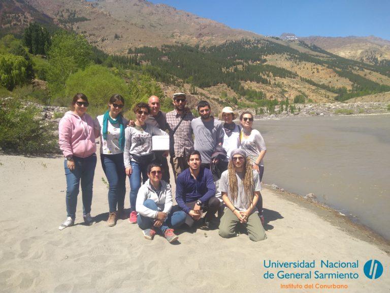 Estudiantes de Ecología visitaron Huinganco y Andacoyo para realizar un estudio ambiental