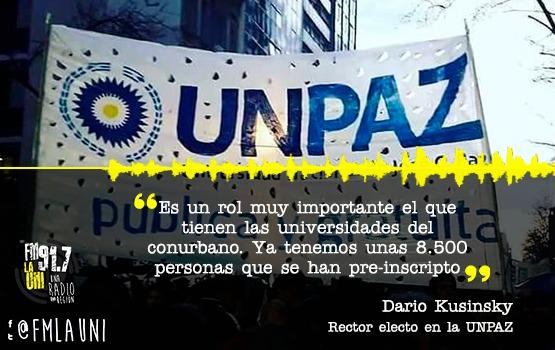 Eleccion de nuevas autoridades en la UNPAZ