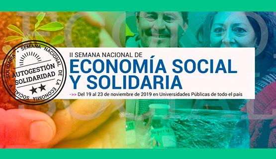 Actividades en la UNGS en el marco de la 2° Semana Nacional de la Economía Social y Solidaria