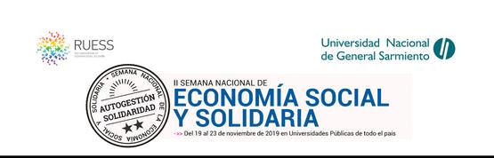II Semana de Economía Social y Solidaria