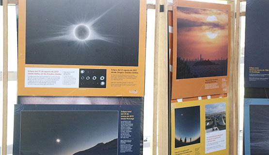 """Muestra itinerante """"Eclipses en la Argentina"""""""