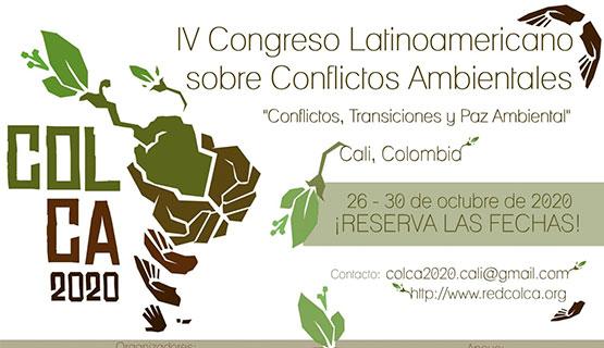 IV Congreso Latinoamericano sobre Conflictos Ambientales