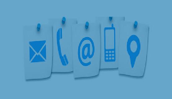 Vías de comunicación para garantizar actividades de formación y administrativas
