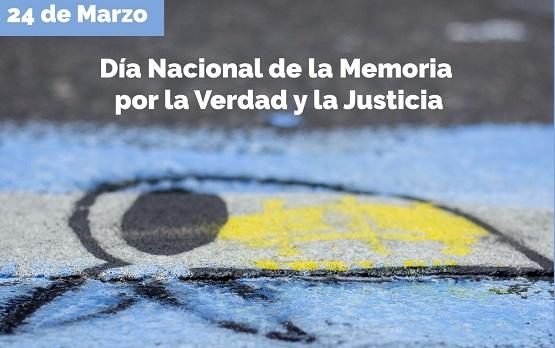#PañuelosConMemoria. Día nacional de la memoria por la verdad y la justicia