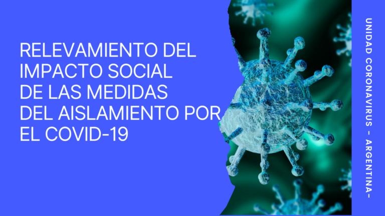 Informe nacional sobre el impacto social de las medidas de aislamiento frente al COVID-19