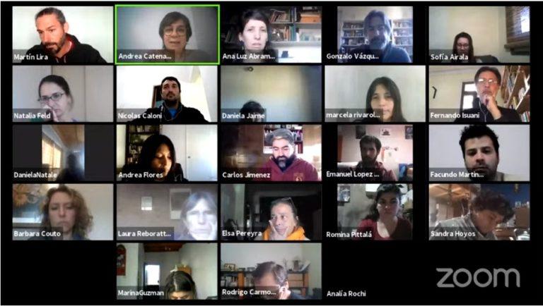 Primera sesión virtual del Consejo de Instituto
