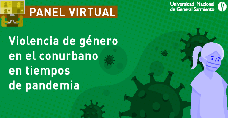 Panel virtual sobre violencia de género en el conurbano en tiempos de cuarentena