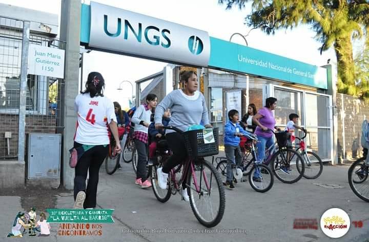 Bicicleteada virtual: La vuelta al barrio