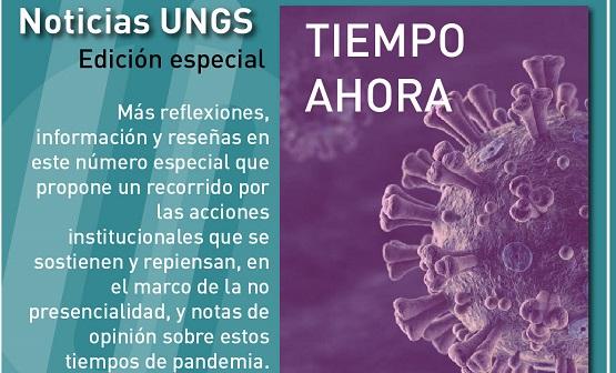 Nueva edición de Noticias UNGS