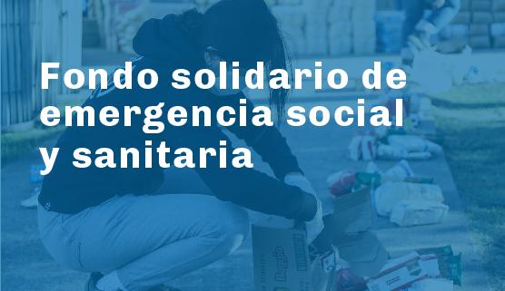 Donaciones y aportes voluntarios para atenuar la crisis
