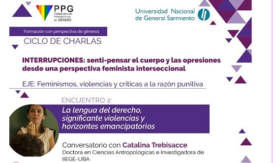 """Encuentro: """"La lengua del derecho, significante violencias y horizontes emancipatorios"""""""