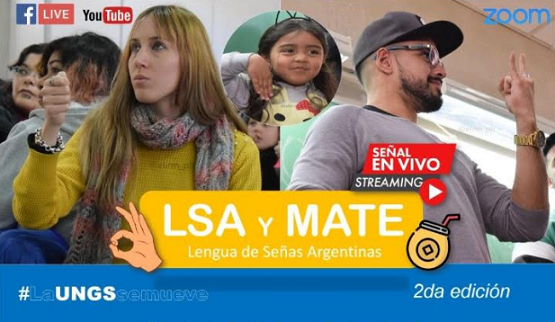 Jornada virtual sobre Lenguaje de Señas Argentina