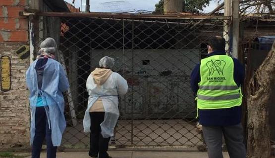 COVID-19 | San Miguel continúa con los operativos casa por casa