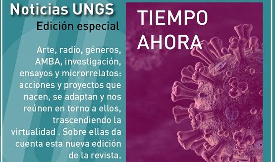 Nueva edición de la revista Noticias UNGS