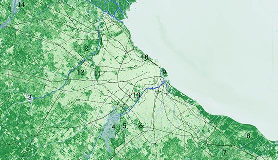 El verde del AMBA en tiempos de pandemia