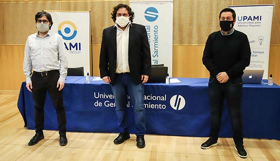 La UNGS firmó un acuedo con PAMI para dictar cursos