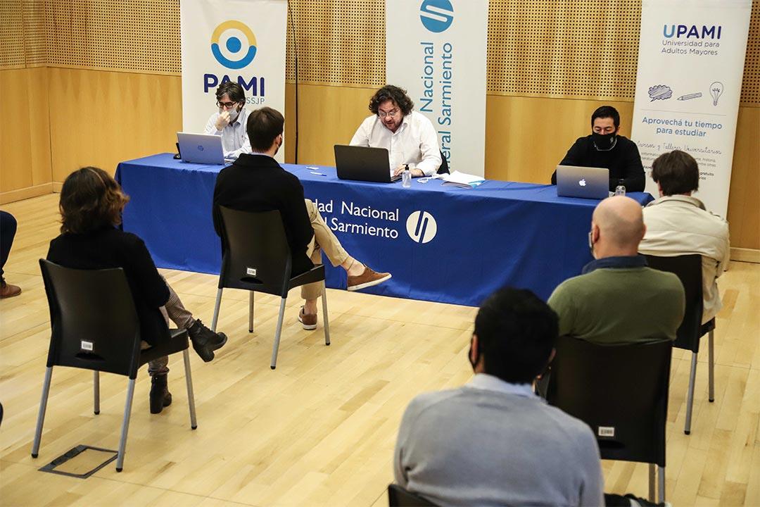 La firma del convenio entre la UNGS y PAMI en los medios