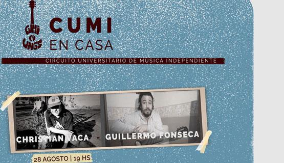 Cumi en casa: Christian Vaca y Guillermo Fonseca
