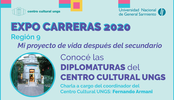 Conocé las Diplomaturas del Centro Cultural UNGS
