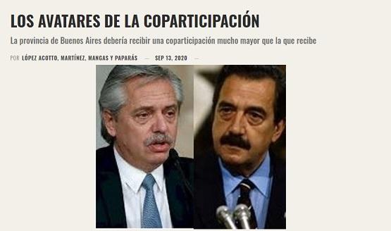 Los avatares de la coparticipación | López Accotto, Martínez, Mangas y Paparás en El Cohete a la Luna