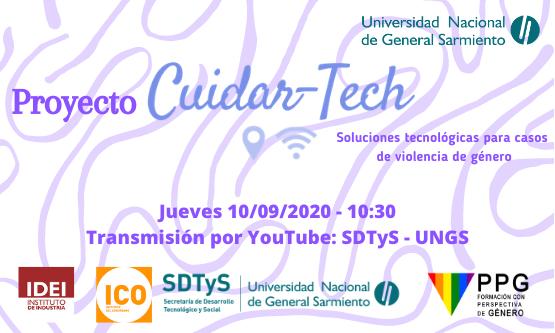 Presentación de Cuidar-Tech, soluciones tecnológicas para casos de violencia de género
