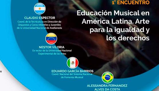 Educación Musical en América Latina. Arte para la igualdad y los derechos
