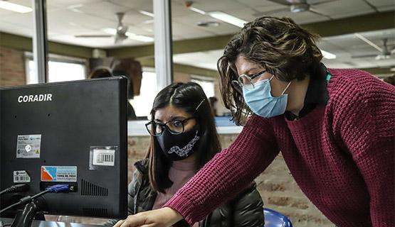 Siguiendo de cerca al virus