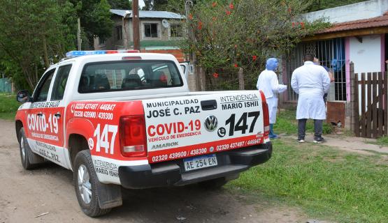 COVID-19 | Alta tasa de contagios en José C. Paz