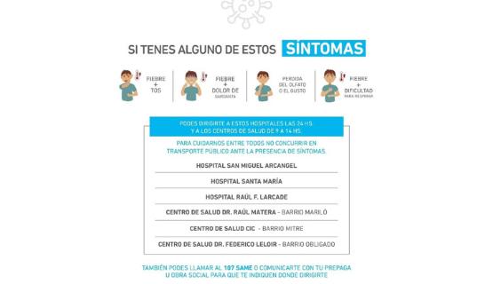 COVID-19   San Miguel sumó puntos de testeos en  4 centros de salud