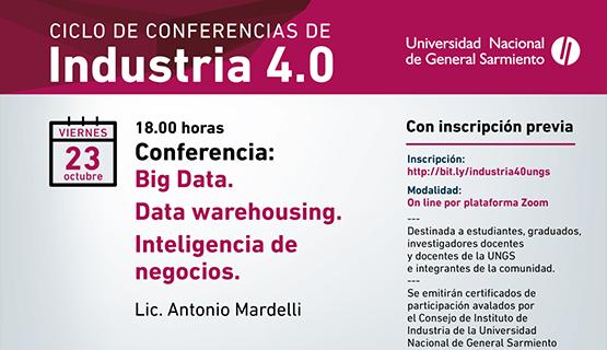 Nuevo encuentro del Ciclo de Conferencias de Industria 4.0